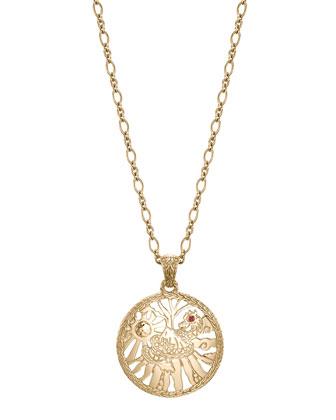 Batu Classic Chain 18k Limited Edition Pendant Necklace