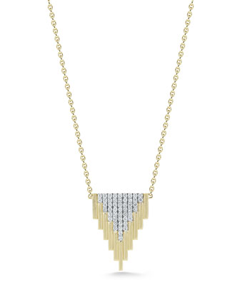 Empire Small Motif Diamond Necklace