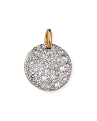 Sabbia 18k Rose Gold Diamond Pendant Charm