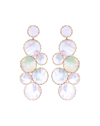 Riviera Mother-of-Pearl Mega Ibiza Earrings