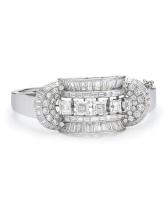 Estate Art Deco Diamond Bracelet