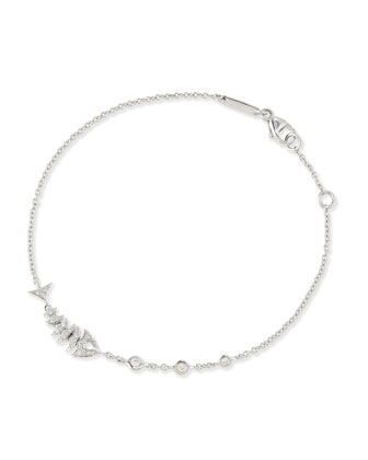 Jewels Verne 18k White Gold Bracelet
