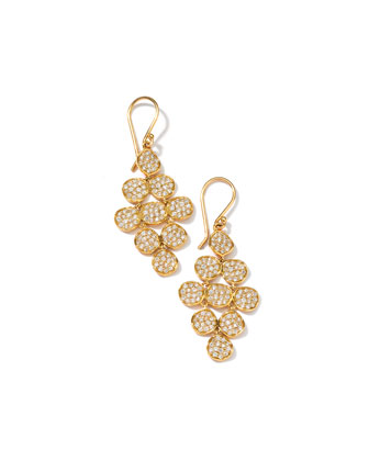 Stardust 18k Cascading Diamond Earrings