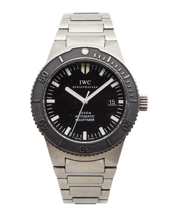 Classic IWC GST Aquatimer Titanium Watch