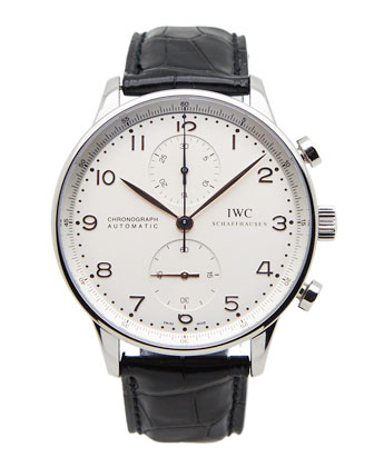 Classic IWC Portuguese Chronograph Watch