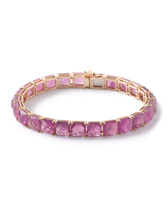18K Rock Candy Ruby Tennis Bracelet