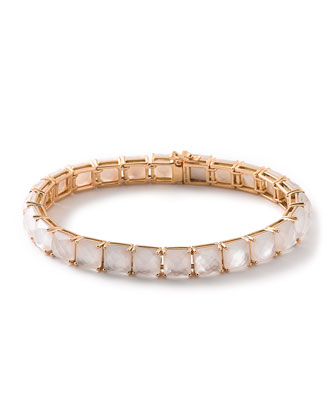 18k Rocky Candy Mother-of-Pearl Tennis Bracelet
