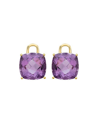 Eternal 18k Gold Amethyst Earring Drops