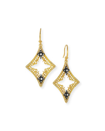 Diamond Mesh Cravelli Earrings