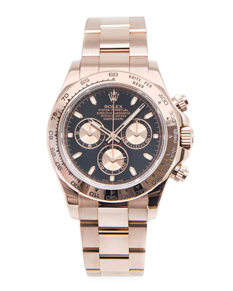 Classic Rolex Daytona Cosmograph Rose Gold Watch