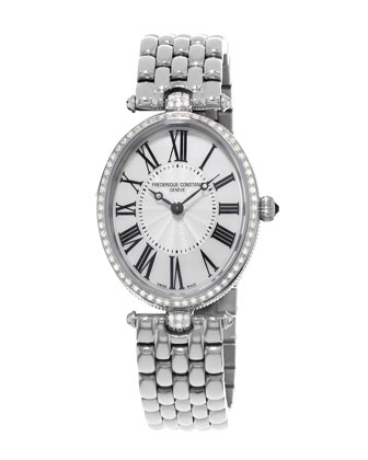 Ladies' Classics Art Deco Stainless Diamond Watch