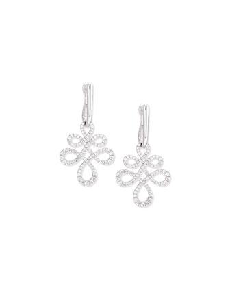 Eloise Medium Diamond Drop Earrings