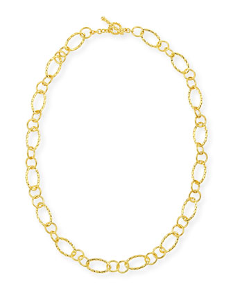 Aegean 18k Gold Twist-Link Necklace