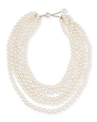 South Sea Pearl Five-Strand Necklace