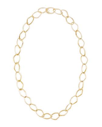 New Essentials 18k Gold Link Necklace