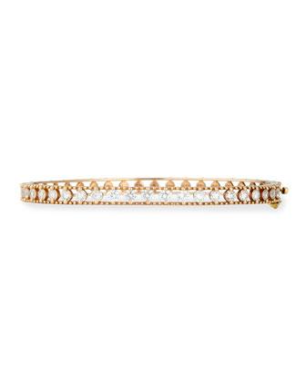 Allegra 18k Rose Gold Diamond Bracelet