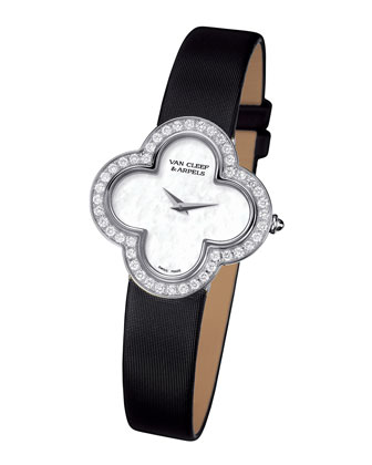 Alhambra Sertie White Gold Watch, Small