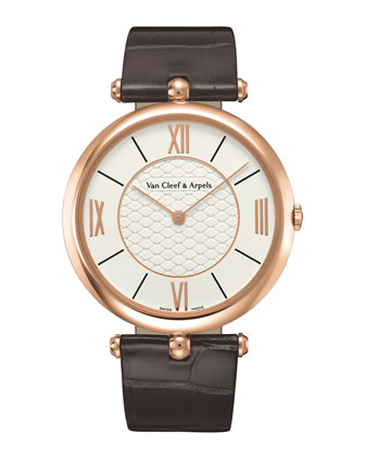 Pierre Arpels Pink Gold Watch, 38mm