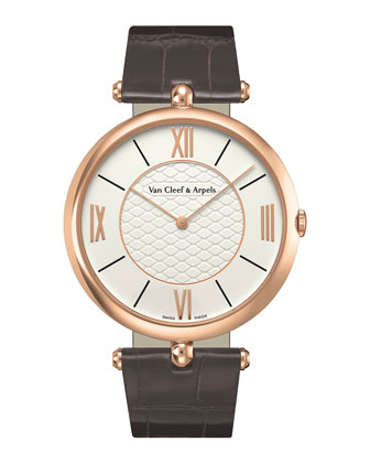 Pierre Arpels Pink Gold Watch, 42mm