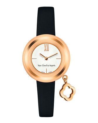 Charms Pink Gold Mini Watch, 25mm