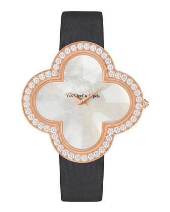 Alhambra Talisman Pink Gold Watch, 40mm