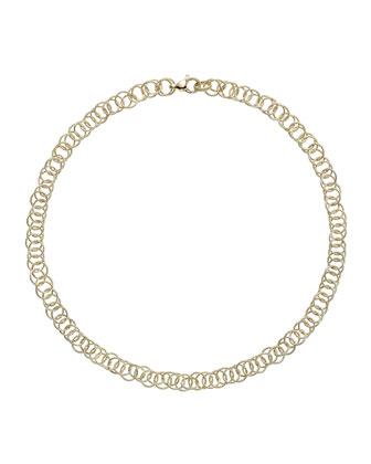 18k Gold Honolulu Necklace, 16