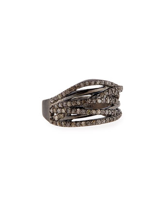 Diamond Branch Ring, Size 7.5