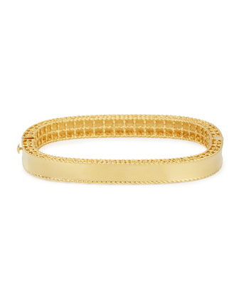 Princess 18k Gold Medium Bangle