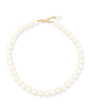 11mm Freshwater Pearl Necklace, 17