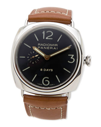 Classic Radiomir 8-Day Stainless Steel Watch