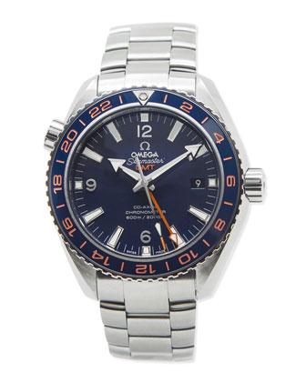 Classic Men's Omega Seamaster Planet Ocean GoodPlanet GMT Watch