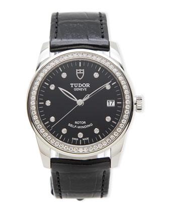 Classic Tudor Ladies' Glamour Diamond Watch