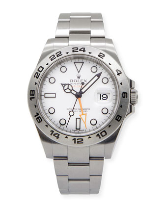 Classic Rolex Men's Explorer II Watch