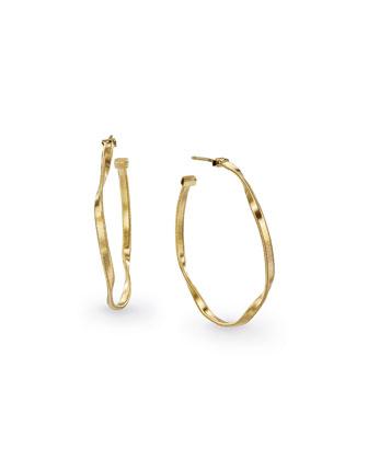 Marrakech Supreme 18K Gold Hoop Earrings