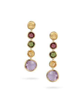 Jaipur Color Multicolor Drop Earrings