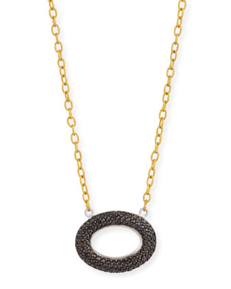 Galahad Reversible Pavé Diamond Necklace