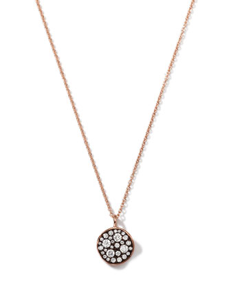 18K Rose Gold Glamazon Stardust Pendant Necklace