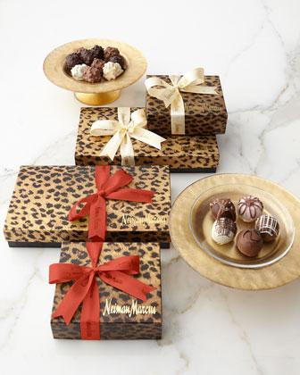Gift-Wrapped Chocolate Truffles & Fudge Love