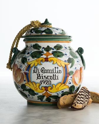 Albicocca Biscotti Jar