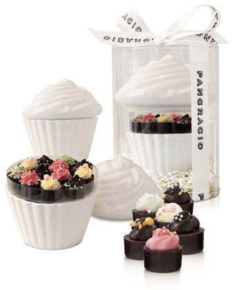 Porcelain Cupcake with Treats