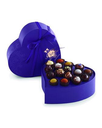 Exotic Heart, 16-Piece Truffles