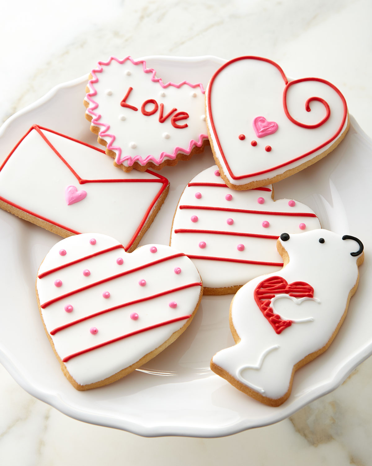 Hand-Decorated Valentine's Day Cookies - Neiman Marcus