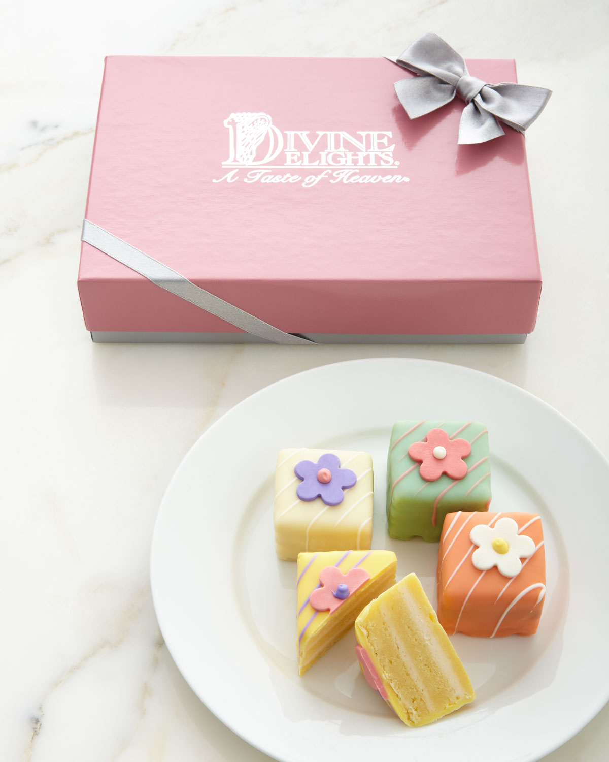 Spring Flower Petits Fours, Multi Colors - Neiman Marcus