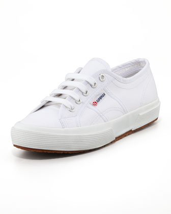 Cotu Flat Canvas Sneaker, White
