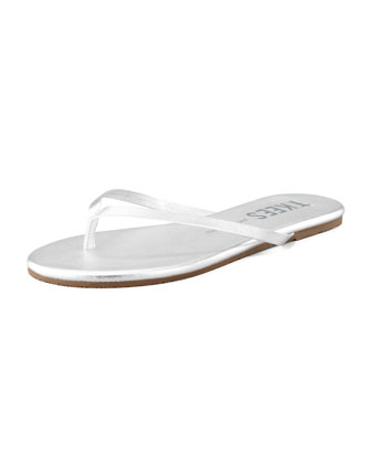 Highlighters Thong Sandal, Silver