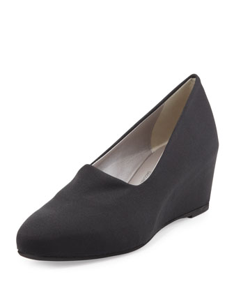 Pride Stretch Fabric Wedge, Black
