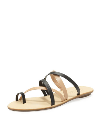 Sarie Two-Tone Strappy Sandal