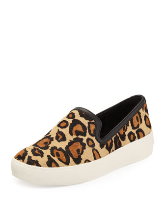 Becker Leopard-Print Slip-On