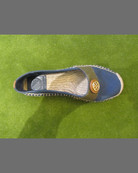 Beacher Canvas Espadrille Flat, Navy