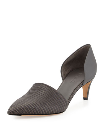 Aurelian Point-Toe d'Orsay Pump